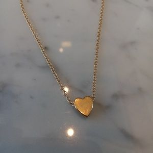 Jewelry - Gold Heart Necklace $40